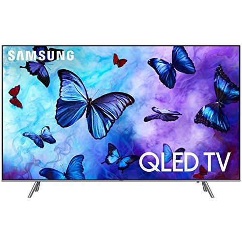 "Samsung QN55Q6F Flat 55"" QLED 4K UHD 6 Series Smart TV - Tv Inch Samsung 55 Led"