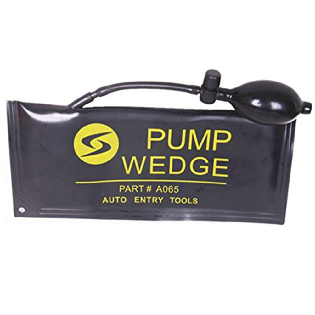 1 Pcs Large Black Rubber Air Wedge Alignment Inflatable Tool Bag Set