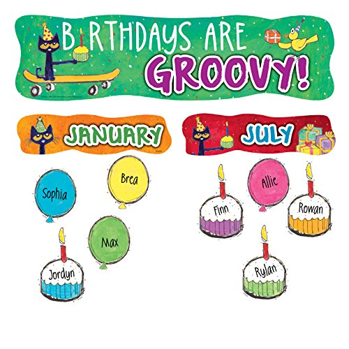 Pete the Cat Birthdays Are Groovy Mini Bulletin Board (Pete The Cat Bulletin Board)