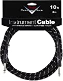 Fender Custom Shop Performance Series Cable (Straight-Straight Angle) for electric guitar, bass...