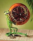 DecoBREEZE Gecko Figurine Fan Single-Speed Electric Circulating Fan