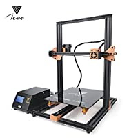 2018 Newest TEVO Tornado 95% Assembled 3D Printer 3D Printing-New Color&New Board from TEVO