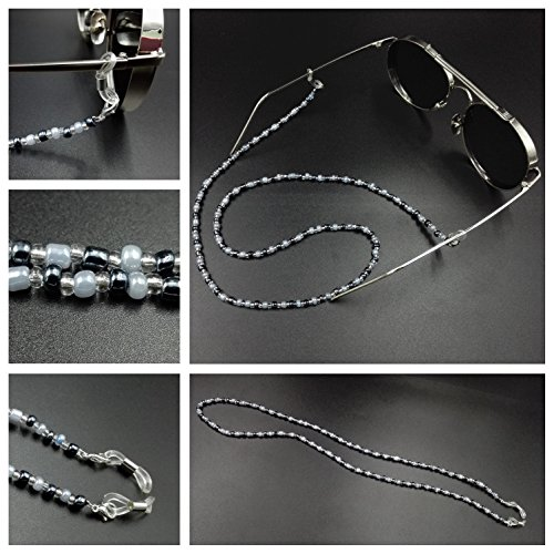 Kalevel 3pcs Eyeglass Chain Holder Eyeglasses Chains Chains and Cords for Women