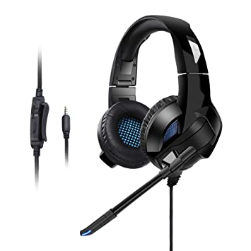 Amazon com: PECHAM Gaming Headset with Mic for Xbox One, PS4