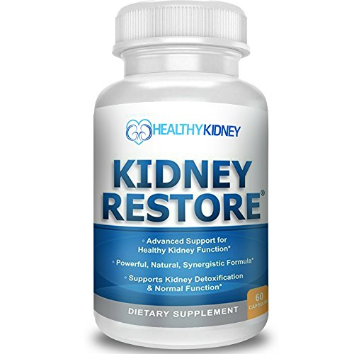 Natural Kidney Cleanse to Support Kidney Function and Detox, Advanced Formula Can Help Boost Kidney Health, Daily Health Supplement Pills for Poor Kidneys & Kidney Flushing, 60 Capsules