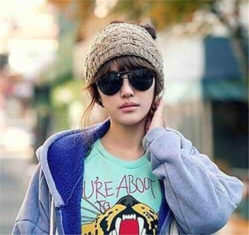 1bd1e834132b2e LOVEACH Womens Winter Knitted Headband - Crochet Twist Hair Band Turban  Headwrap Hat Cap Einter Headband
