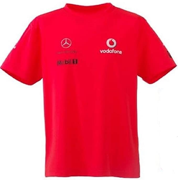 McLaren Mercedes Team F1 - Camiseta de Manga Corta para niños ...