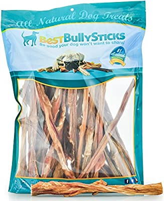 100% Natural Junior Bully Sticks by Best Bully Sticks - Beef Bladder Stick Dog Treats from Best Bully Sticks