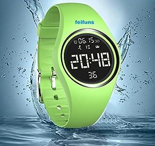 Und Armband Armbanduhr Test Hübsche Uhr Feifuns Fitness Praktische QEdoxerBCW