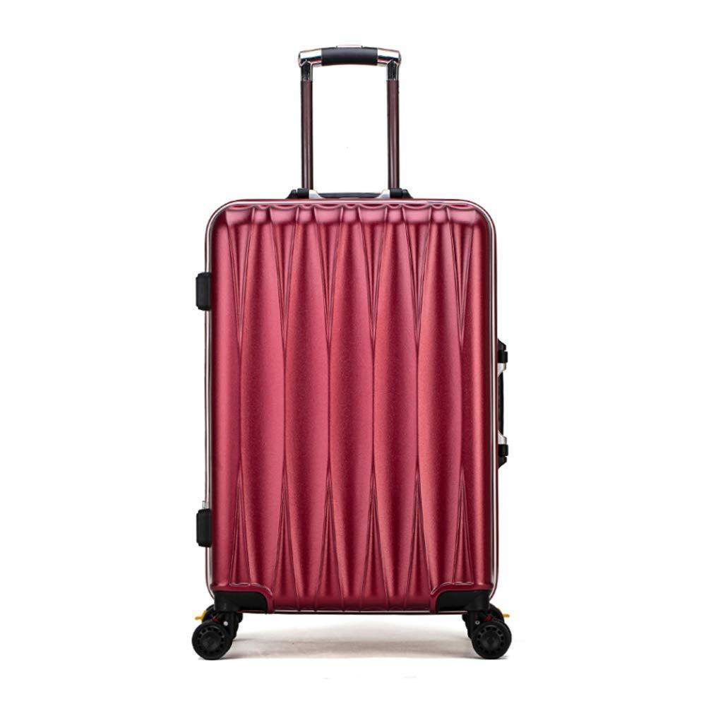 スピナー荷物拡張旅行スーツケース20インチ (赤),A  A B07JPYTB28