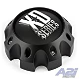 xd series center caps - KMC XD Series 441 796 797 798 800 801 8 Lug Matte Flat Black Center Cap 1079L170-MB-8LUG by XD Series by KMC Wheels