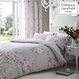 Catherine Lansfield Canterbury Easy Care Single Duvet Set Grey
