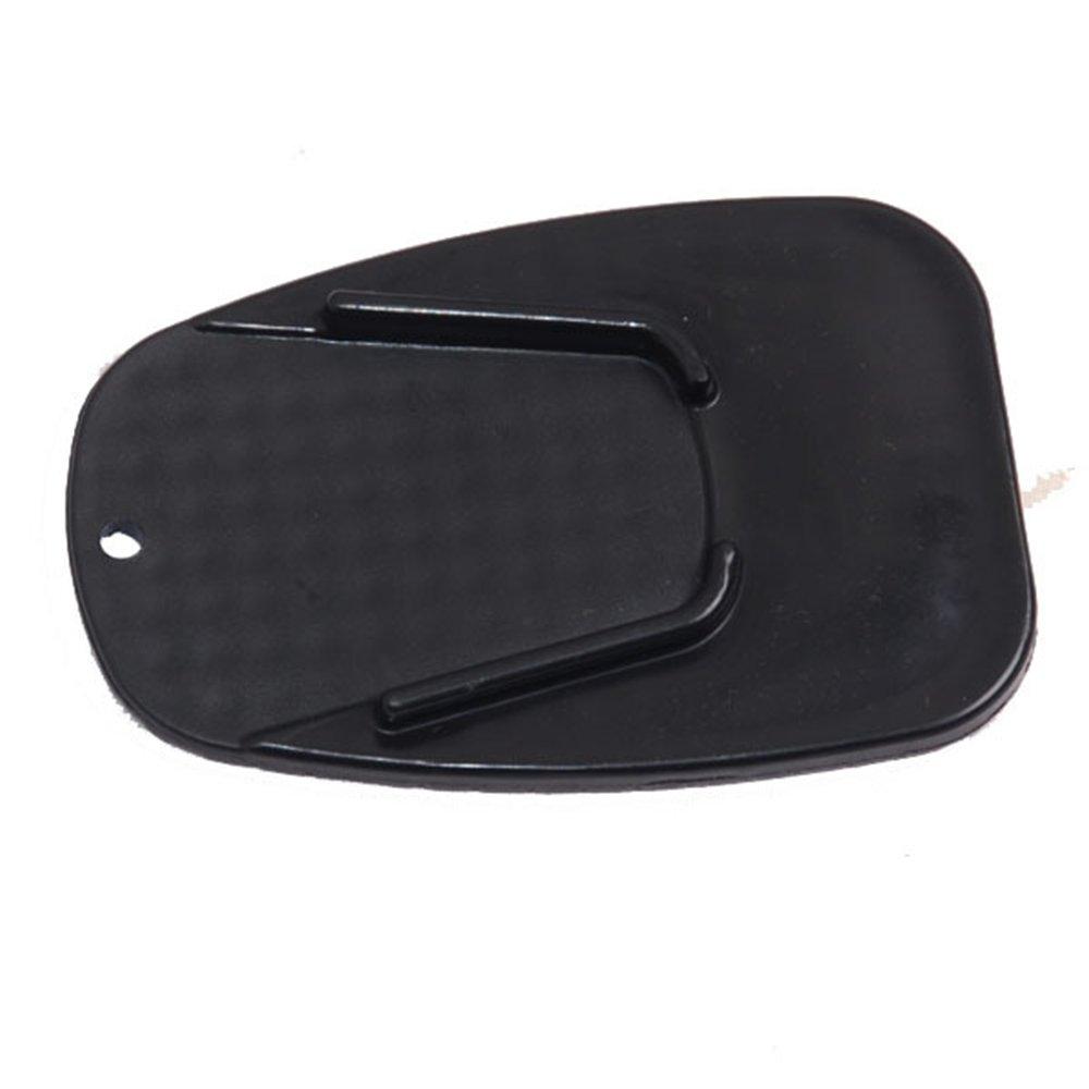 FJROnline Moto Gear Motorcycle Kickstand Pad,Anti slip Side Kickstand Stand Sidestand Extension Plate Pad