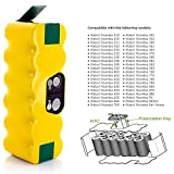 MegaPower (TM) Extended 3500mah Capacity Battery for Irobot Roomba 880 500 510 530 532 535 540 545 550 552 560 562 570 580 581 582 585 595 600 610 611 620 625 627 630 650 653 654 660 670 700 760 770 780 790 R3 80501 4419696 Pet Series Replacement