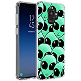 Case for Samsung Galaxy S9 Alien Face,ChyFS Phone Case,TPU protective Clear Case