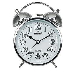 jsaoirwjfdwhjbfdtewrsa Generic Luminous Bedside Mute Students Creative Simple Digital Clock Bedroom Desk Nightstand Alarm Clock Children-H-4.5 inch