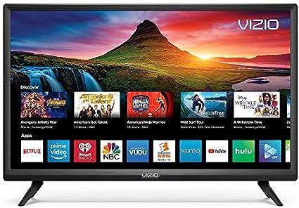 D24H-G9 720P Vizio D-Series 24 HD Smartcast Renewed Chromecast Included Smart LED TV