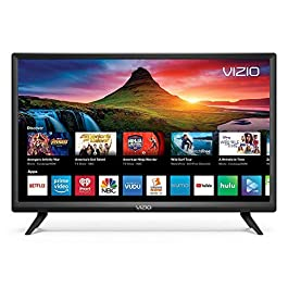 (Renewed) Vizio D-Series 24 inches HD (720P) Smart LED TV, Smartcast + Chromecast Included – D24H-G9