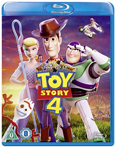Toy Story 4 [Blu-ray] [2019] [Region Free] (Toy Story 3d Collection)