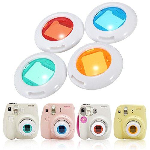 Price comparison product image 4 Colors Set Filter Close-Up Lens For Fujifilm Instax Mini 7s Mini 8 Camera