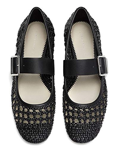 5503 Braided Women's 301 Ballerinas Zara SUfqOFw