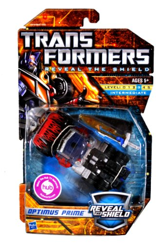 Transformers Reveal Shield Deluxe Optimus