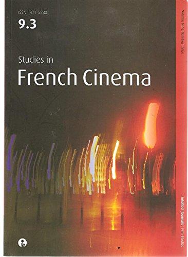 Studies in French Cinema, 9.3, Volume 9, Number 3, 2009