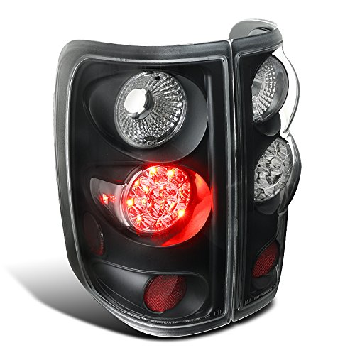 Black Spec-D Tuning LT-F15004JMLED-TM Spec-D Led Tail Lights