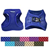 Downtown Pet Supply Best No Pull, Step in Adjustable Dog Harness with Padded Vest, Easy to Put on Small, Medium and Large Dogs (Purple, S)