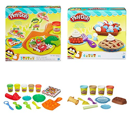 California Pizza Kitchen Domain: Exclusive Play Doh Pizza And Pie 2 Pack Set