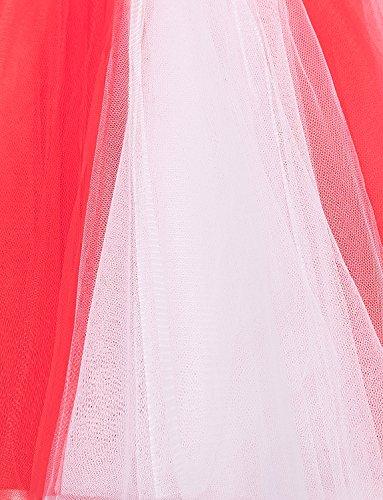 Rose Ballet multicouches Vintage courtes Femmes BeiQianE Bubble 50 Tutu Crinoline jupes jupes des Petticoat sous jupe annes wITwaHxq7Y