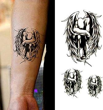 Oottati Tatuajes Temporales Alas Ángel (Juego De 2): Amazon.es ...