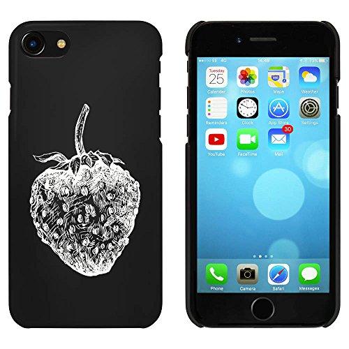 Noir 'Fraise Juteuse' étui / housse pour iPhone 7 (MC00076943)