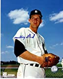 Mickey Lolich Signed - Autographed Detroit Tigers 8x10 inch Photo - Guaranteed to pass PSA or JSA - 1968 World Series Champion and MVP