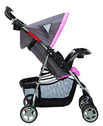 Kolcraft Lite Sport Light Weight Stroller, Carnation