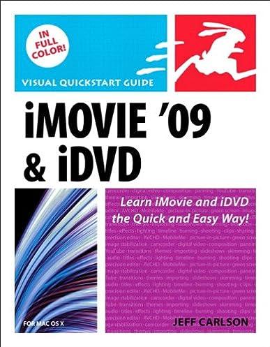 imovie 09 and idvd for mac os x visual quickstart guide jeff rh amazon com iMovie Logo iMovie Event Library