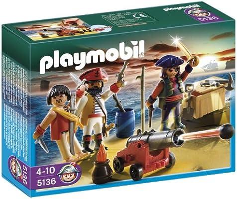 PLAYMOBIL - Tripulación Pirata, Set de Juego (5136): Amazon.es: Juguetes y juegos