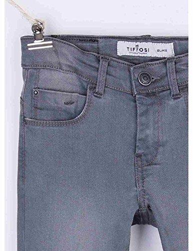 Tiffosi Niña Blake Skinny Gris Jean Medio Tiro Pantalón R8RxCTwqP