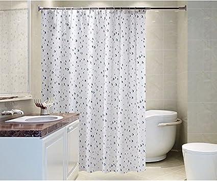 Qpla tende da bagno tenda doccia elegante idrorepellente width