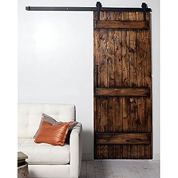 Amazon Com Winsoon 5ft Black Single Wood Door Hardware