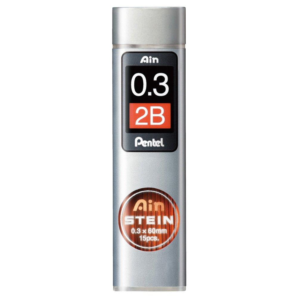 Pentel ains Tein Mechanical Pencil Leads 0.32B xc273–2B by Pentel XC273-2B