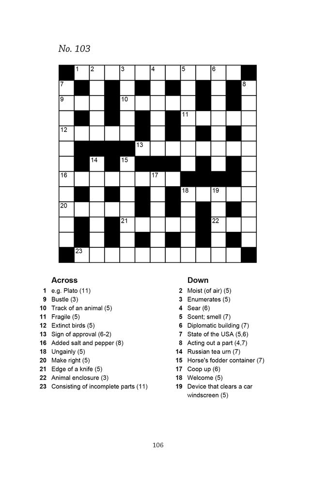 Big Book Of Quick Crosswords Book 1 A Bumper Crossword Book For Adults Containing 300 Puzzles Richardson Puzzles And Games 9781913602055 Amazon Com Books