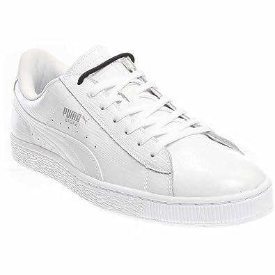 puma basket white classic