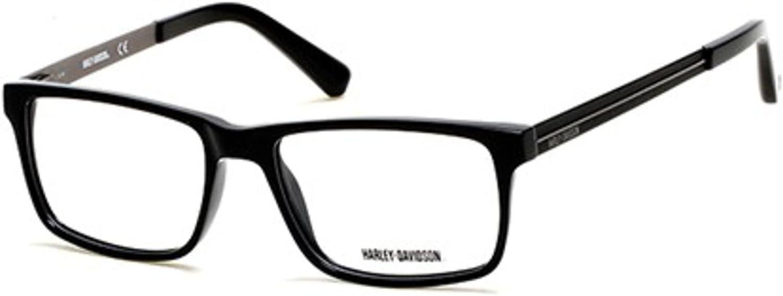 Eyeglasses Harley-Davidson HD 0766 001 shiny black