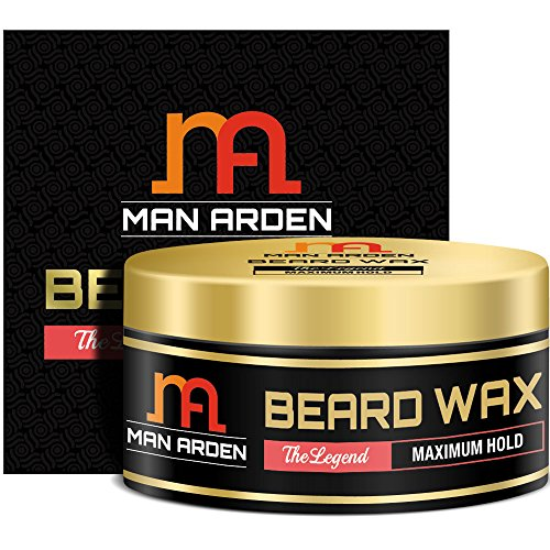 Man Arden Beard & Mustache Wax – The Legend (Maximum Hold) 50gm