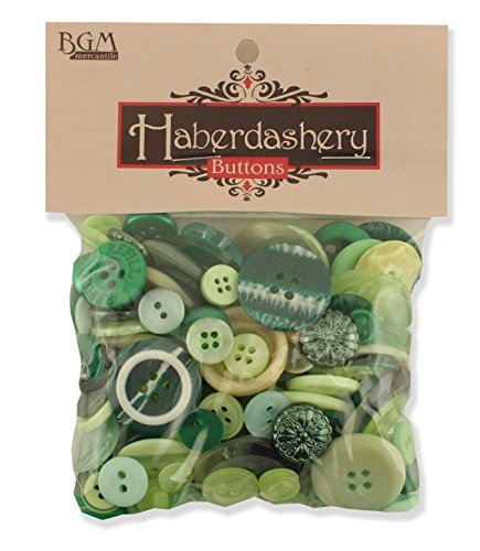 Buttons Galore and More Haberdashery Collection - Extensive Selection of Novelty Buttons and Embellishments for DIY Crafts, Scrapbooking, Sewing, Cardmaking, and other Art & Creative Projects