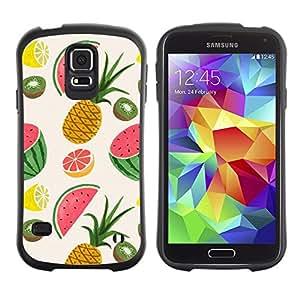 Suave TPU GEL Carcasa Funda Silicona Blando Estuche Caso de protección (para) Samsung Galaxy S5 / CECELL Phone case / / Pineapple Fruit Painted Drawing /