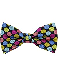 ecf8d99e1c4c Dinosaur Shark Music Pattern Pre-Tied Bow Tie Adjustable Bowties for Mens &  Boys