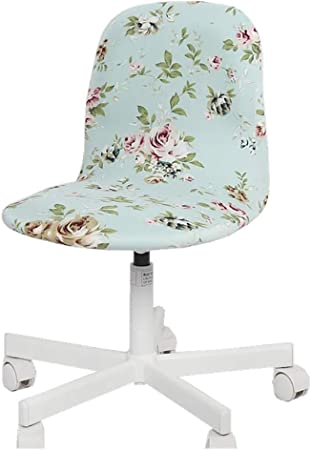 Chair Cover Stretchy Office Study Armchair Seat Swivel Chair Slipcover 4 Colors