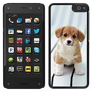 LECELL--Funda protectora / Cubierta / Piel For Amazon Fire Phone -- Beagle del perro de perrito de Bretaña canina --
